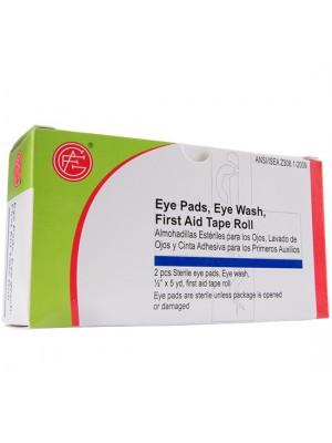 Eye Pad, 1 unit, Sterile Eye Pads, 2 pcs, Tape Roll