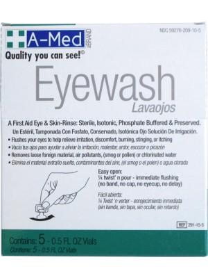 A-Med Eyewash (5)1/2oz Display