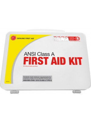 "Class A 25 Person 2015 ""Easy Care"" ANSI First Aid Kit Plastic"