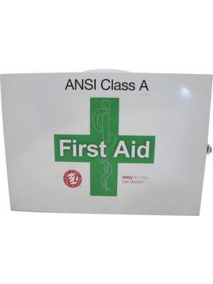 FIRST AID CAB CLASS A+ 2 SHELF Two Shelf First Aid Station ANSI Class A+