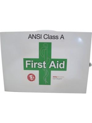 FIRST AID CAB CLASS A+ 2 SHELF Two Shelf First Aid Station ANSI Class A+