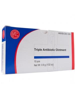 Triple Antibiotic Ointment, 0.9 gram,