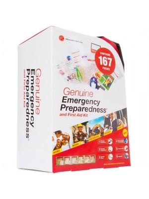 167 Piece Soft Sided Emergency Preparation Kit