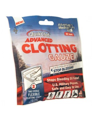 "QuikClot® Advanced Clotting Gauze 3"" x 24"" (2)"