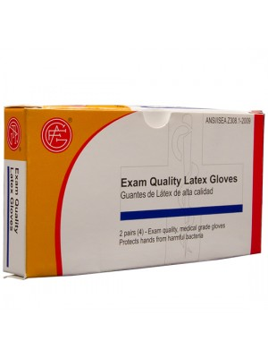 Latex Gloves,  2 pair per box