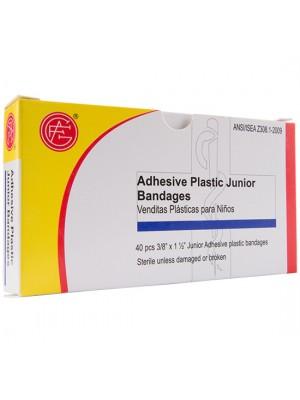 """Junior Plastic Bandage, 3/8"""" x 1.5"""""""