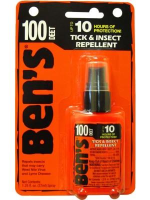 Ben's-100®  Tick & Insect Repellent 1.25oz Pump