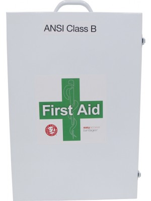 ANSI Class B 4 Shelf First Aid Station