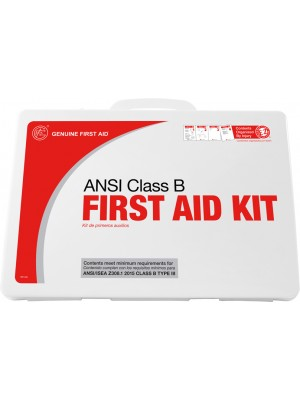 Class B 2015 ANSI First Aid Kit Plastic 50 Person