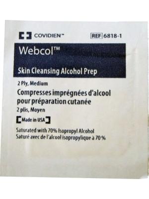 Alcohol Prep Pad, 10/Bag