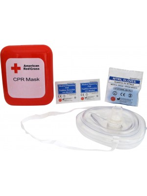 Portable CPR Mask with Hard Case