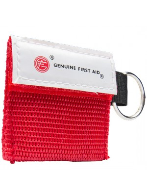 Mini Carrying Case with Key Ring & CPR Barrier