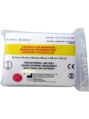 "Triangular Bandage, 42"" x 42"" x59"", 1 ea."