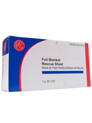 "Foil Blanket, 38"" x 60"""