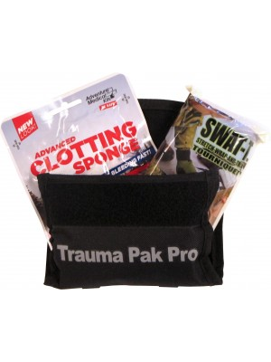 Trauma Pack Pro with Advanced Clotting Sponge & Swat-T