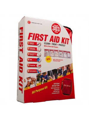 303 Piece Soft Sided First Aid Kit