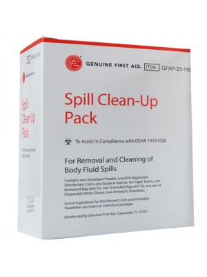Spill Clean-up Pack
