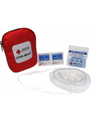 Portable CPR Mask with Soft Case
