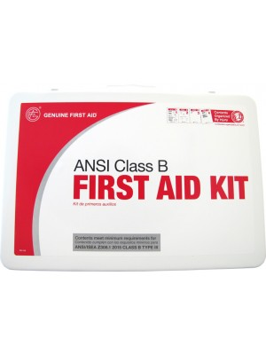 KIT,2015 ANSICLASS B METAL 50P Class B 2015 ANSI First Aid Kit Metal 50P