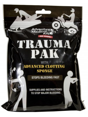 Trauma Pak with Advanced Clotting Sponge