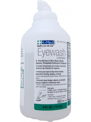 EYE WASH, 4 OZ A-Med Eyewash 4oz