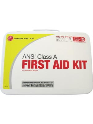 "Class A 25 Person 2015 ""Easy Care"" ANSI First Aid Kit Metal"