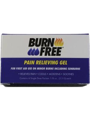 BurnFree® PAIN RELIEVING GEL (3.5gm) 6BX/100