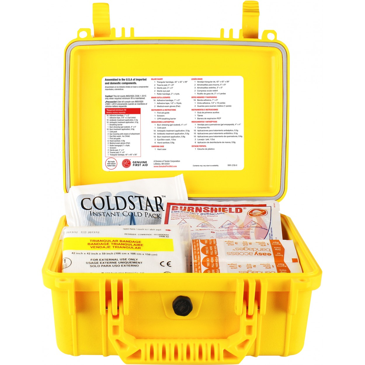 25 Person ANSI Class A Type IV Waterproof First Aid Kit