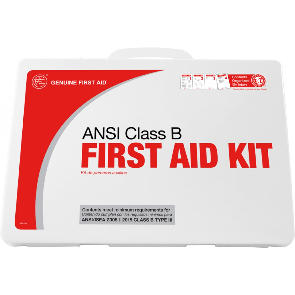 Class B ANSI 50 Person Plastic First Aid Kit - Genuine First
